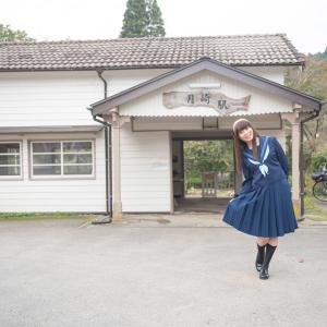 月崎駅を見学してきました