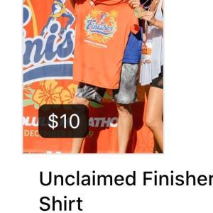 ホノルルマラソン2019完走Tシャツを受取りそびれた方に朗報⁉︎