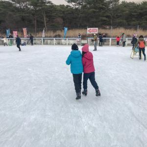 日本最南端の屋外アイススケート場に行ってきたよ!!