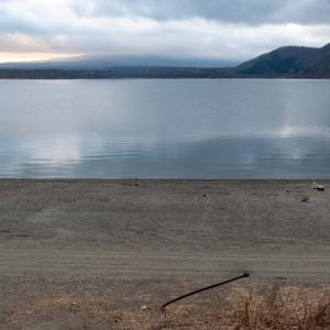 ゆるキャン△の聖地、1月の浩庵キャンプ場は静かで冷たくて美しかった!!その2