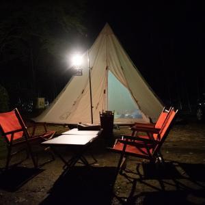 北薩広域公園で父子キャンプ!!その1