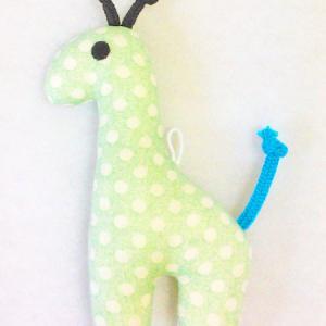 保育科の授業で布おもちゃ作り