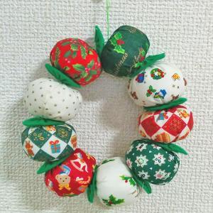 【販売開始】飾って遊べる クリスマスの布おもちゃ