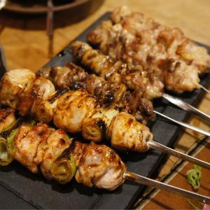 焼き鳥はもちろん、野菜串が美味しい! 勝商店 梅田