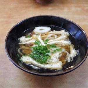 思い出の鳴ちゅるうどんの写真をあげてみる あそこ食堂 徳島