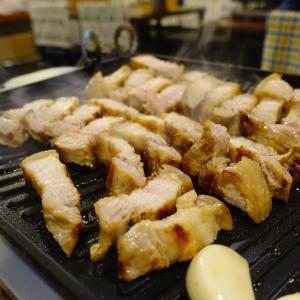家庭的な韓国料理屋さんで分厚いサムギョプサル! コキリ 天満
