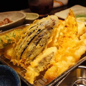 一つ80円から!揚げたてサクサク天ぷらが美味! あたりや食堂 梅田