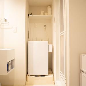 自宅公開!洗面室のゴチャゴチャした配線を解消