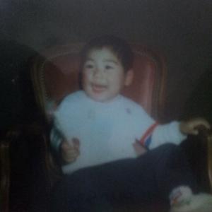 小さい頃の写真。