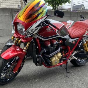趣味のバイクCB1300sf