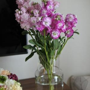 花のある暮らし。