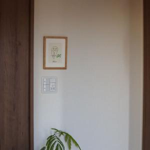山口一郎さんのシルクスクリーン。