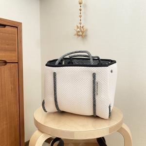 洗えるバッグ~ネオプレンバッグミニが可愛すぎる! & ポチレポ。
