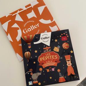 大人も楽しめる!Gallerさんのアドベントカレンダーチョコレート。