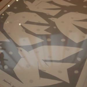 【限定450枚】KLIPPAN×mina perhonenのアートポスター。