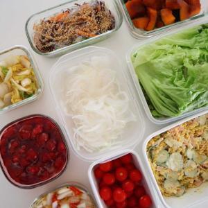 最近の常備菜とウチゴハン。