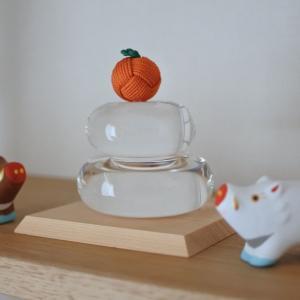 中川政七商店さんのガラスの鏡餅飾り☆&今夜、楽天大感謝祭!