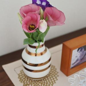 リビングに花を飾る & ポチレポその2とオススメetc..