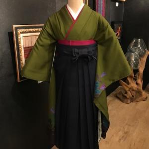 《アクア店》袴コーディネート