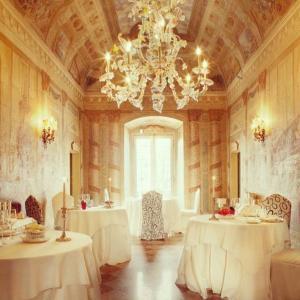 イタリアの美味しいレストラン ロンバルディア州  ブレーシア  Ristorante Castello Malvezzi