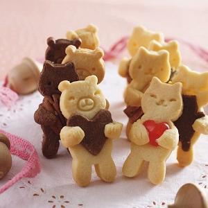 NHK「まちかど情報室(4/3)」:「貝印 クッキー型 だっこ クマ」