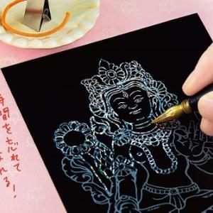 NHK「まちかど情報室(6/2)」:「スクラッチアート 削仏プログラム」