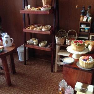 手作り飾り棚 カフェ風