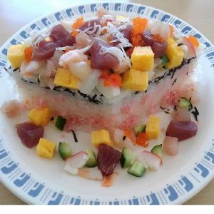 【樹園】の「ひな祭り」はちらし寿司