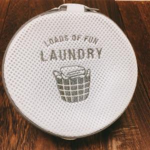 3COINSの洗濯ネットでラクちん洗濯
