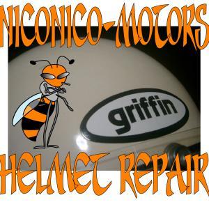 GRIFFIN CLUBMAN Helmet Repair グリフィン クラブマン ヘルメットリペア  ヘルメット修理店