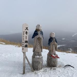新年最初のスキー