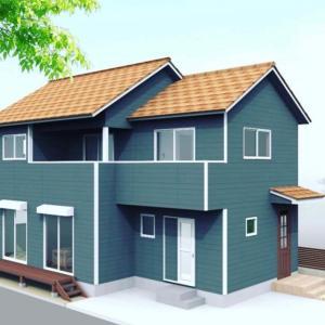 木造2階建て 階段の施行