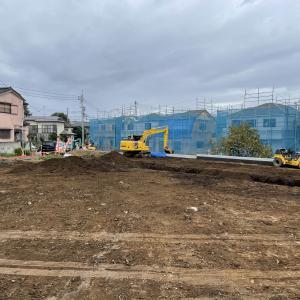 【一戸建て建売住宅】擁壁工事も終盤です。