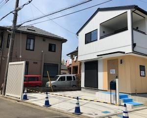 web内覧会 建売住宅 ガルバリウムと無垢材の家