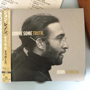 ジョン・レノン「ギミ・サム・トゥルース」(通常盤)1CD じゃ足りないね 「メンローヴ・アヴェニュー」もちょっとだけ