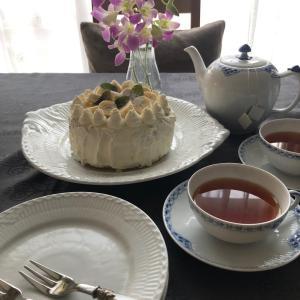 エアリーなスポンジのバナナケーキ