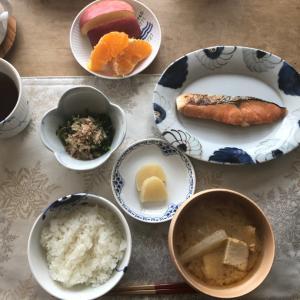ザ、日本の朝ごはん