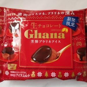ガーナ生チョコレート 芳醇プラリネアイス ロッテ