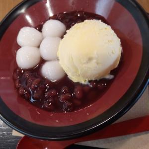 白玉ぜんざい ~バニラアイス添え~【COCO'S】