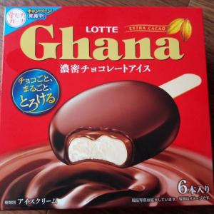 ガーナ 濃密チョコレートアイス ロッテ