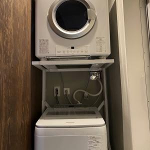 ガス衣類乾燥機でホームランドリー化