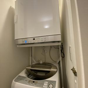 ガス衣類乾燥機 設置してきました