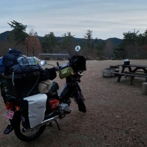 今年一番寒いとき(おそらく)にキャンプ
