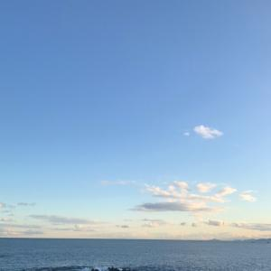 昨日見た海