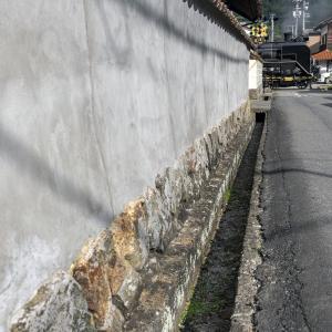 土塀(山口線)