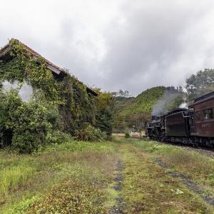 去りゆく汽車(山口線)