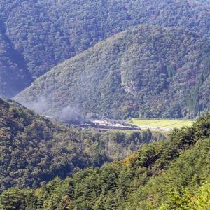 長門峡サイド俯瞰(山口線)