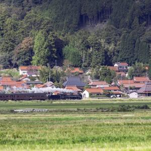 石州瓦の集落(山口線)