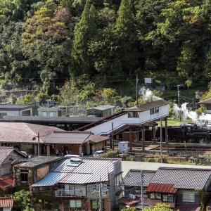 津和野駅のC57(山口線)