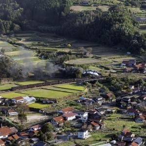 津和野城址からの眺め(山口線)その2